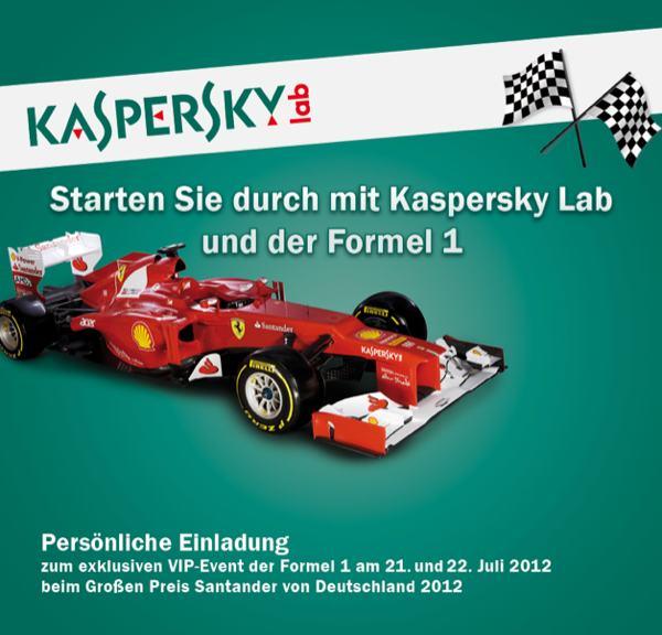 Kaspersky-Labs formel-one