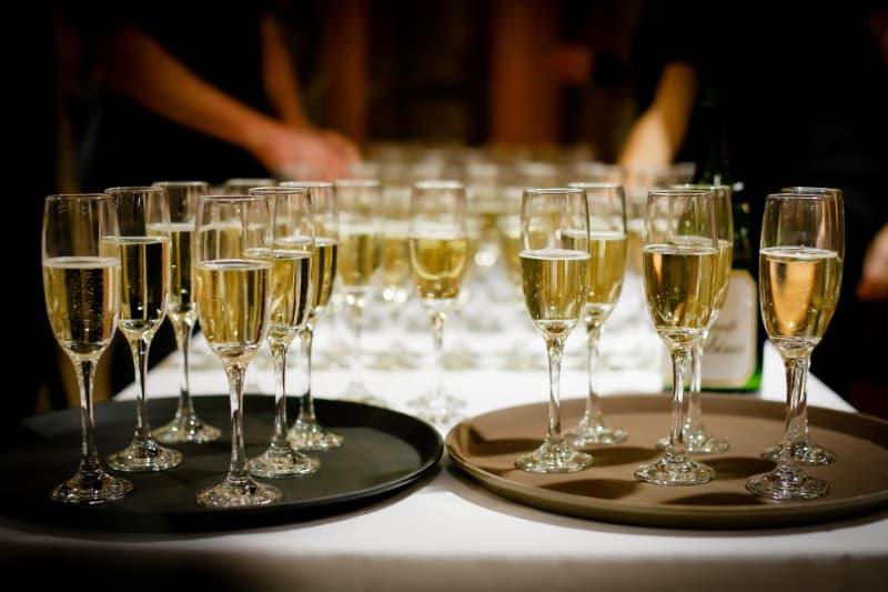 champagner tasting