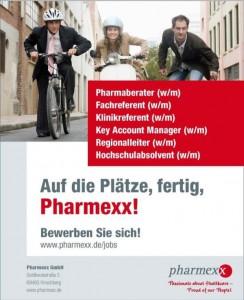 Pharmexx: Anzeigenkampagne