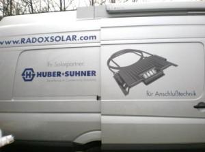 HUBER+SUHNER: Solarmobil